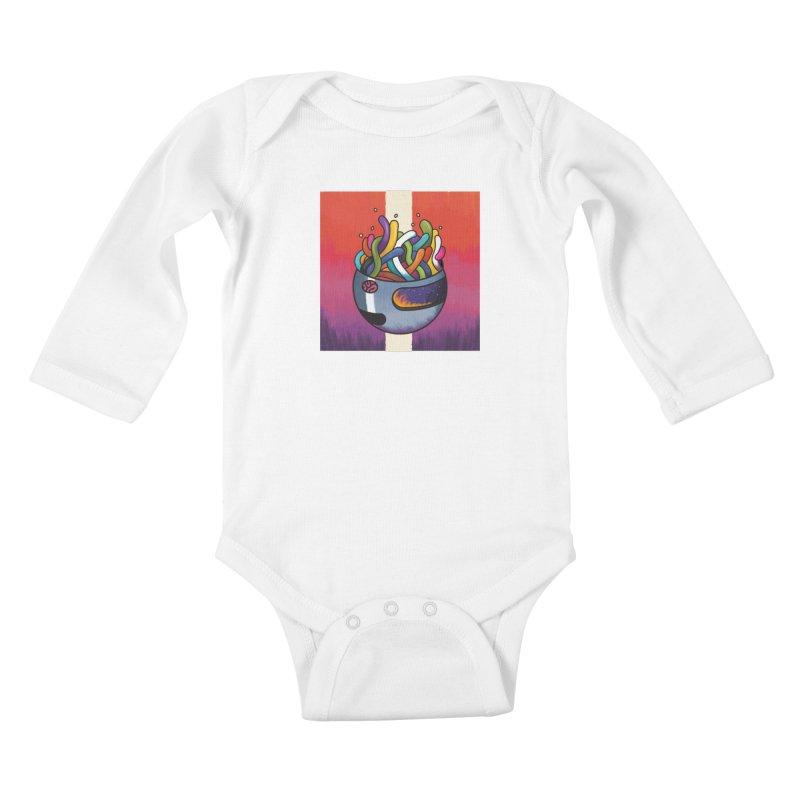 Headspace Kids Baby Longsleeve Bodysuit by Steger
