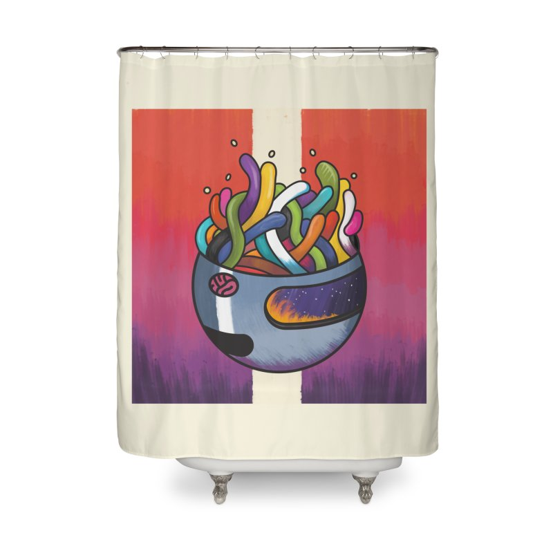 Headspace Home Shower Curtain by Steger