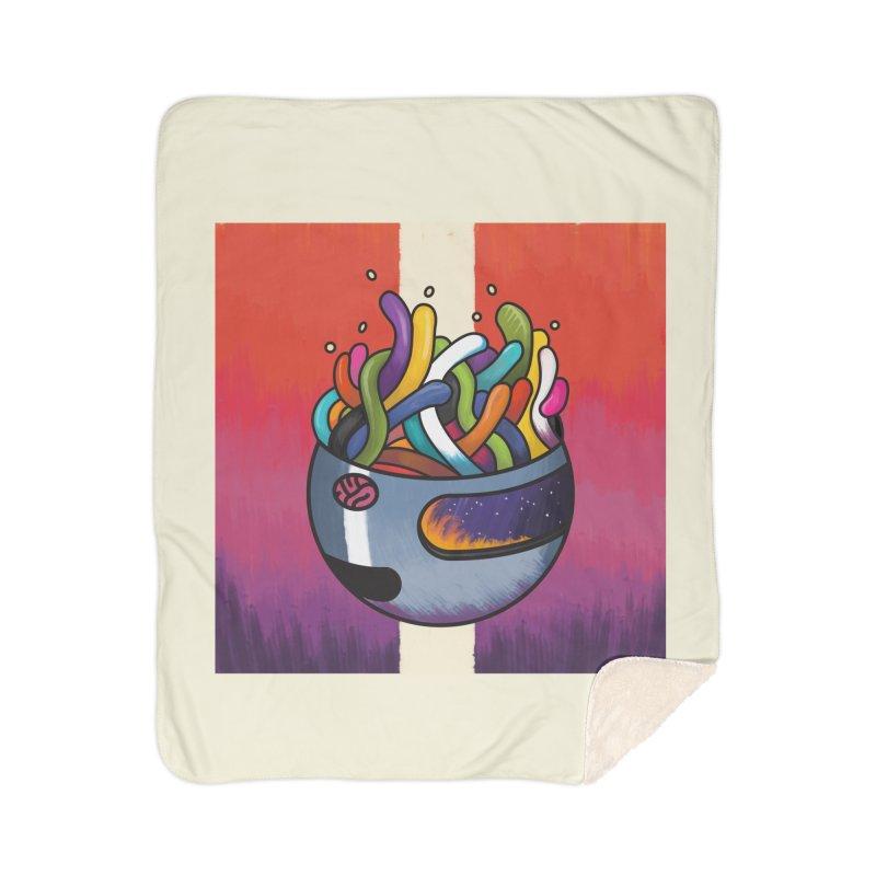 Headspace Home Sherpa Blanket Blanket by Steger