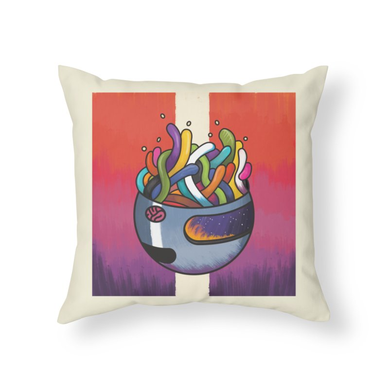 Headspace Home Throw Pillow by Steger