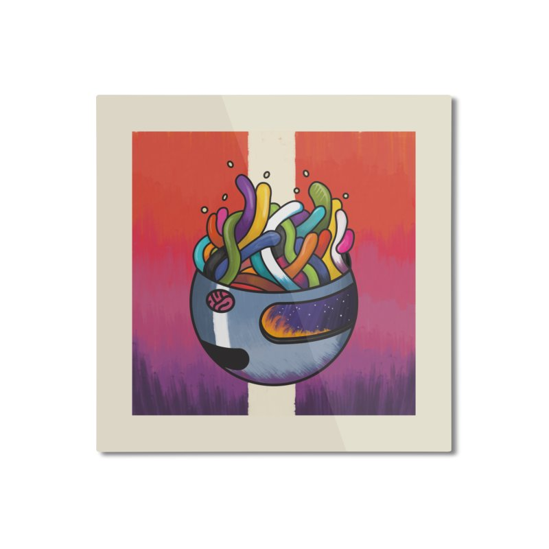 Headspace Home Mounted Aluminum Print by Steger