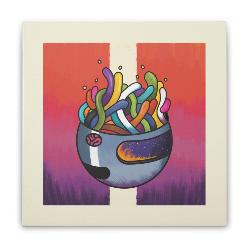 Headspace Home Stretched Canvas by Steger
