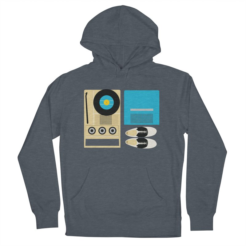 Moonrise Record Men's Pullover Hoody by Steger