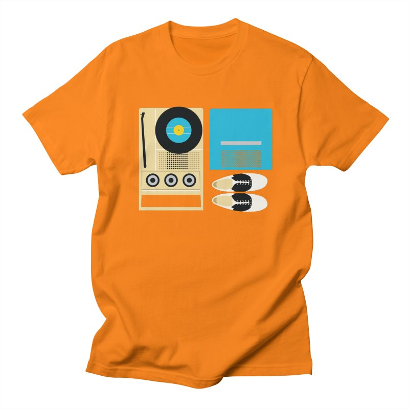 Moonrise Record Men's T-Shirt by Steger