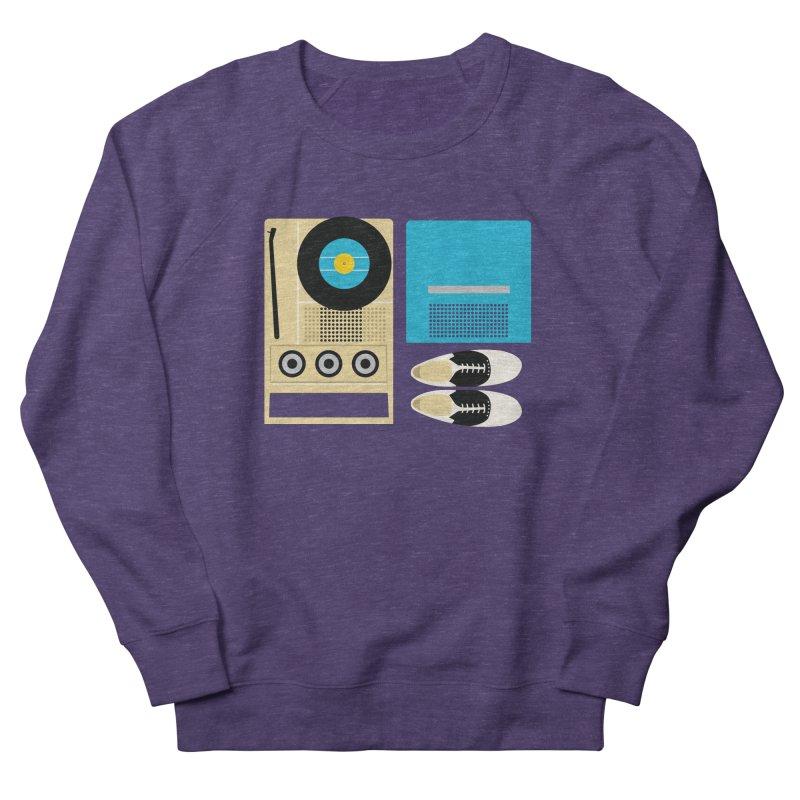 Moonrise Record Men's Sweatshirt by Steger