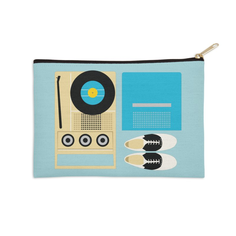 Moonrise Record Accessories Zip Pouch by Steger