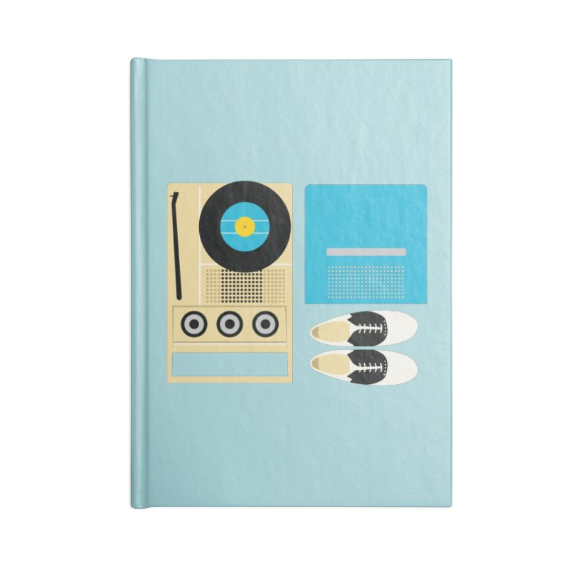 Moonrise Record Accessories Notebook by Steger