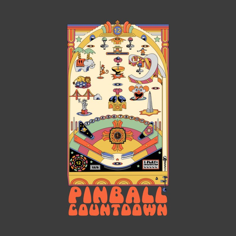 Pinball Countdown Women's T-Shirt by Steger