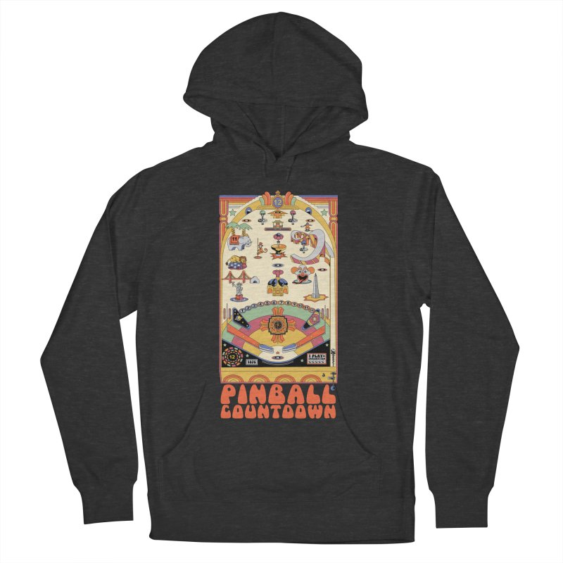 Pinball Countdown Women's French Terry Pullover Hoody by Steger