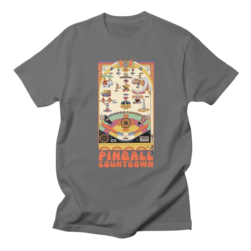Pinball Countdown Women's Unisex T-Shirt by Steger