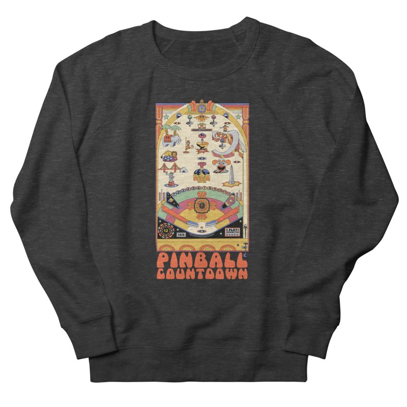 Pinball Countdown Men's Sweatshirt by Steger