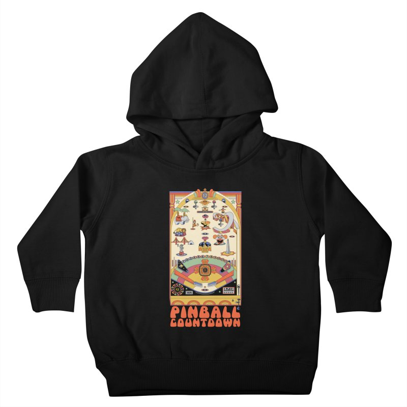 Pinball Countdown Kids Toddler Pullover Hoody by Steger