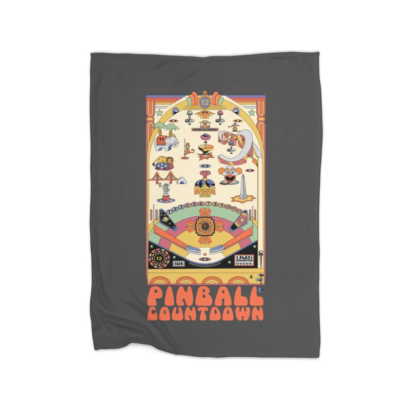 Pinball Countdown Home Fleece Blanket by Steger