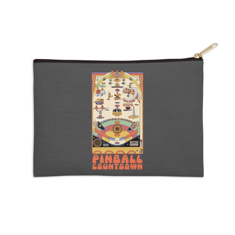 Pinball Countdown Accessories Zip Pouch by Steger