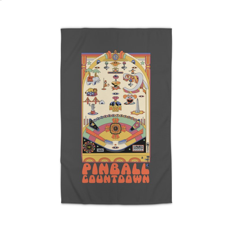 Pinball Countdown Home Rug by Steger