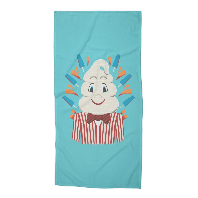 Mr. Tastee Accessories Beach Towel by Steger