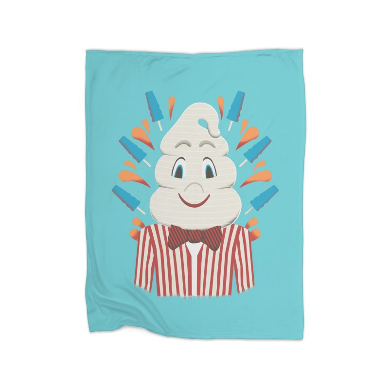 Mr. Tastee Home Fleece Blanket by Steger