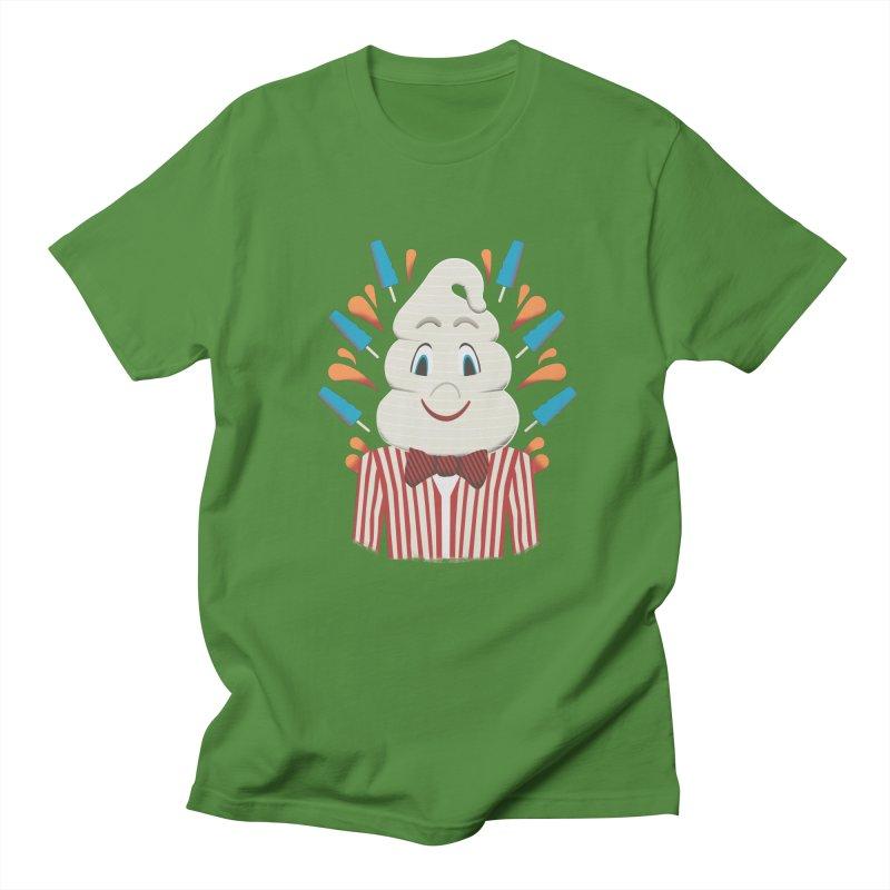 Mr. Tastee Men's T-shirt by Steger