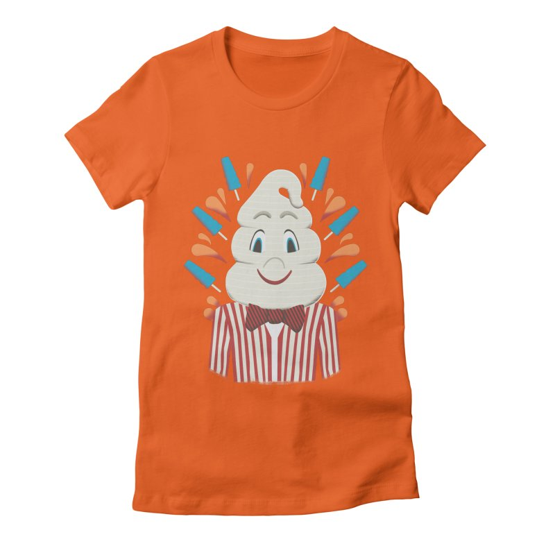 Mr. Tastee Women's Fitted T-Shirt by Steger