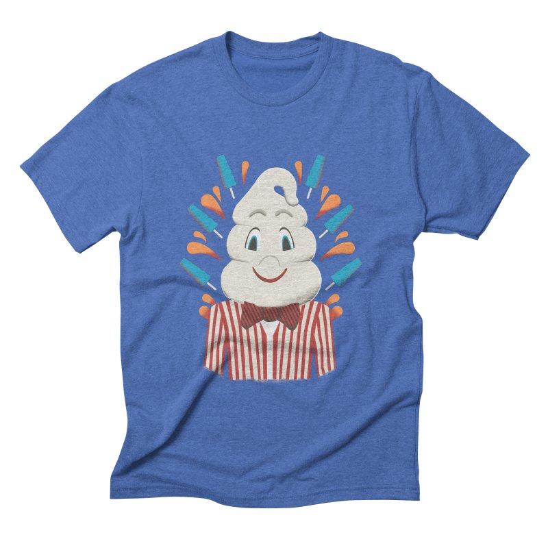 Mr. Tastee Men's Triblend T-shirt by Steger