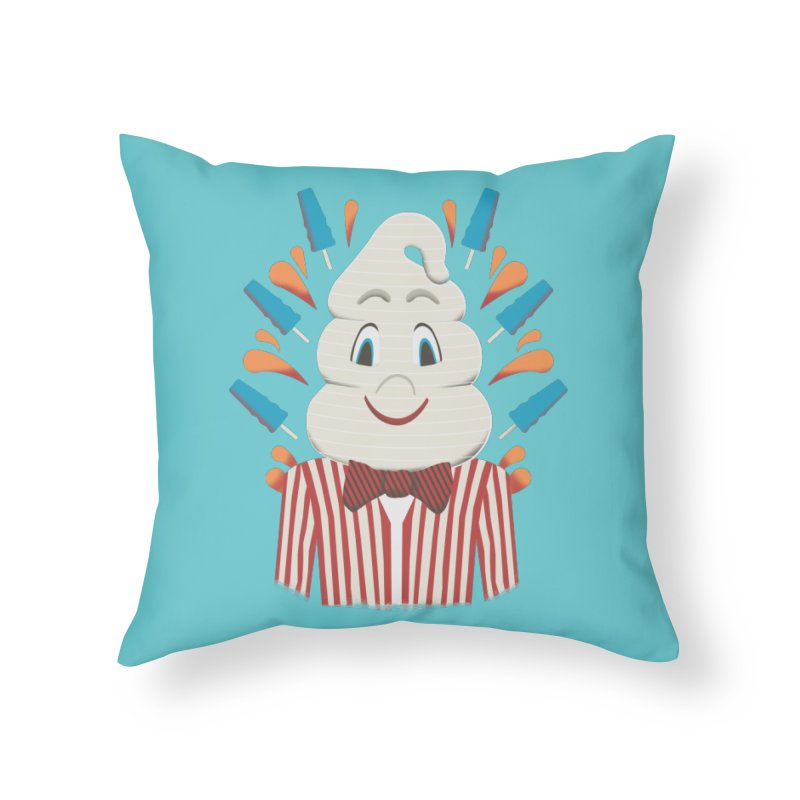 Mr. Tastee Home Throw Pillow by Steger