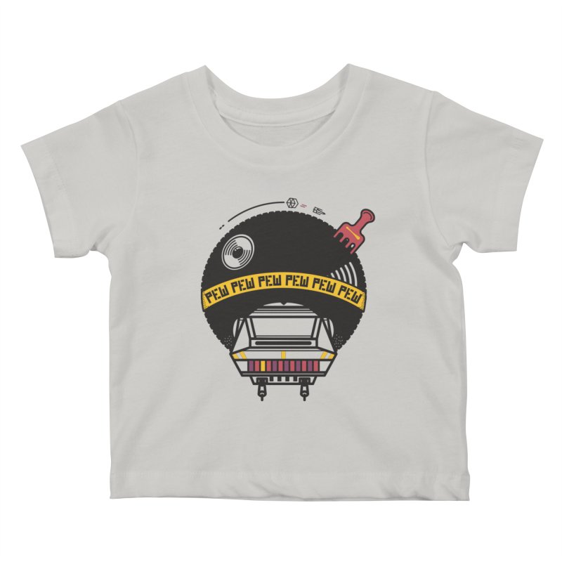 Where it's AT-AT Kids Baby T-Shirt by Steger