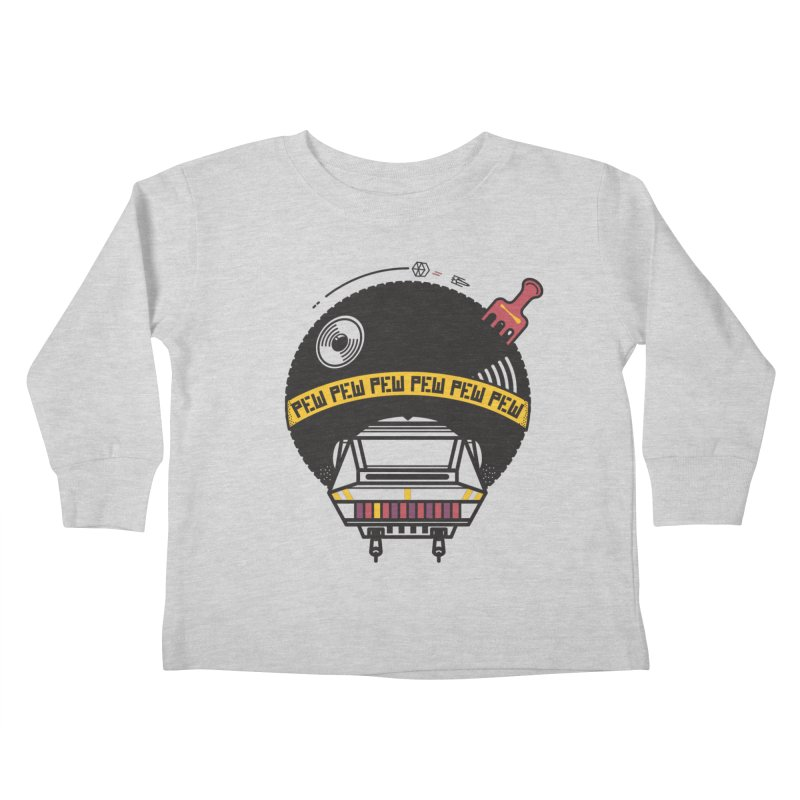 Where it's AT-AT Kids Toddler Longsleeve T-Shirt by Steger