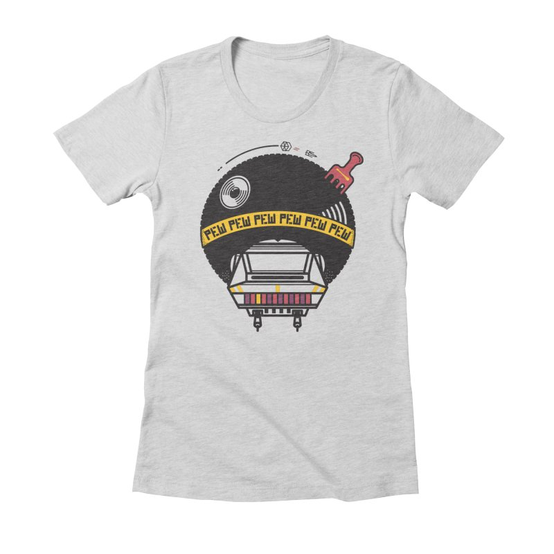 Where it's AT-AT Women's Fitted T-Shirt by Steger