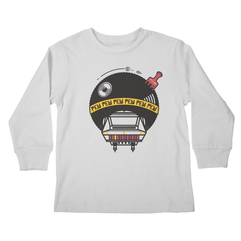 Where it's AT-AT Kids Longsleeve T-Shirt by Steger