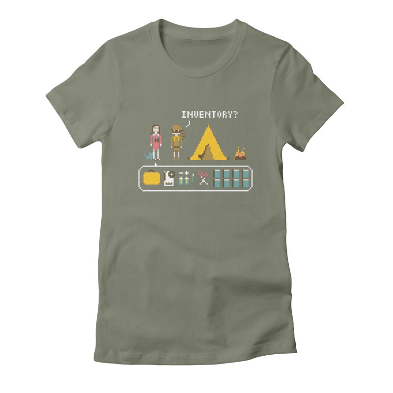 Adventures in New Penzance Women's Fitted T-Shirt by Steger