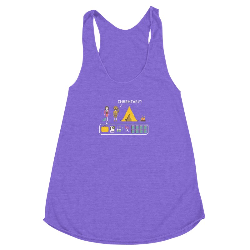Adventures in New Penzance Women's Racerback Triblend Tank by Steger
