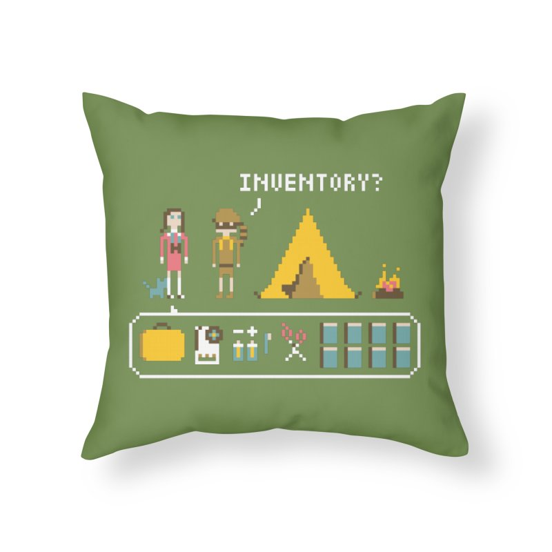 Adventures in New Penzance Home Throw Pillow by Steger
