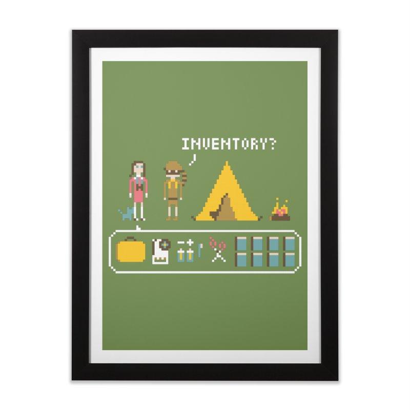 Adventures in New Penzance Home Framed Fine Art Print by Steger