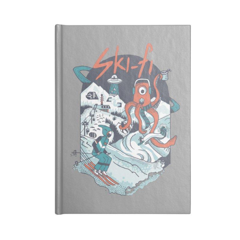 Ski fi Accessories Blank Journal Notebook by Steger