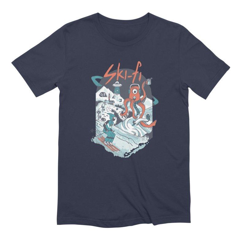 Ski fi Men's Extra Soft T-Shirt by Steger