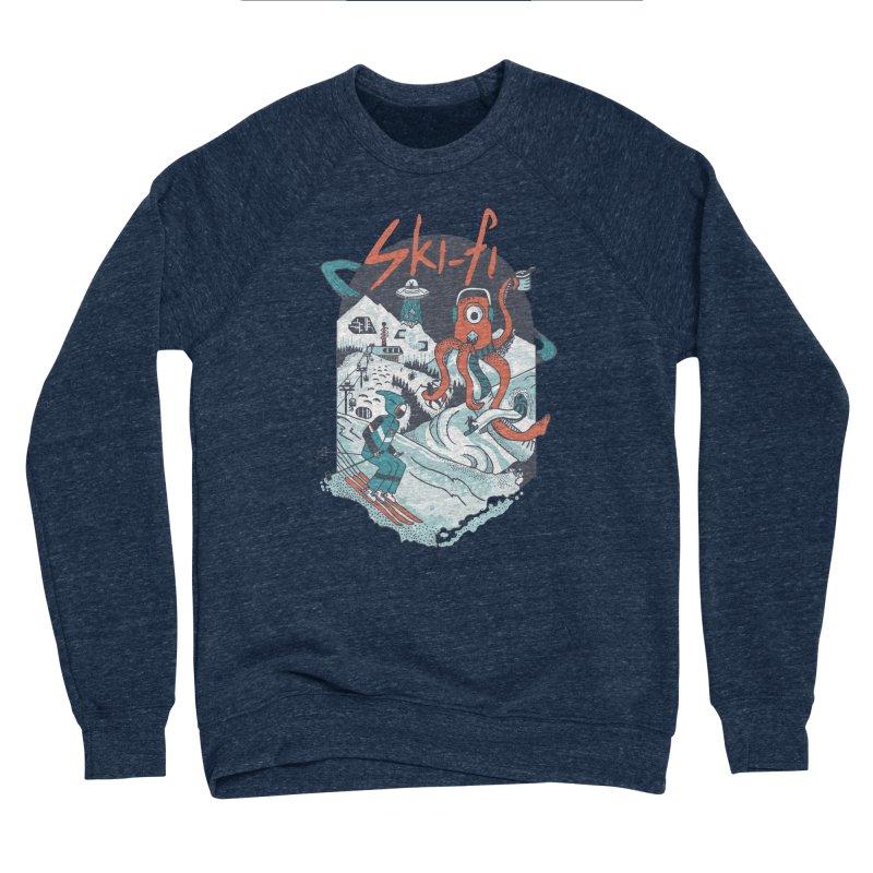 Ski fi Men's Sponge Fleece Sweatshirt by Steger