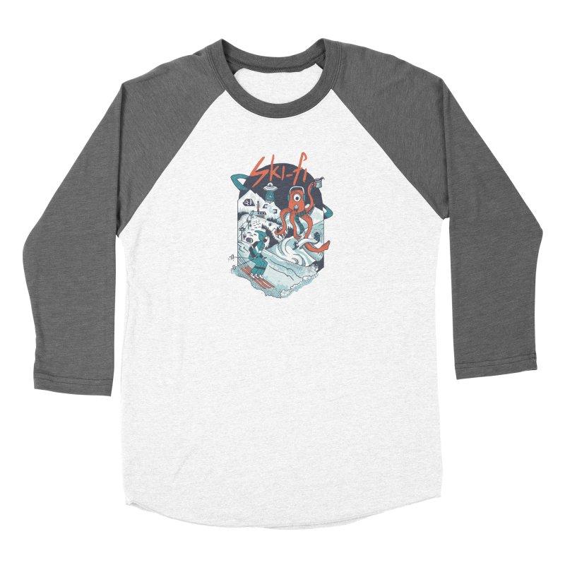 Ski fi Men's Baseball Triblend Longsleeve T-Shirt by Steger