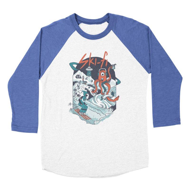 Ski fi Women's Baseball Triblend Longsleeve T-Shirt by Steger