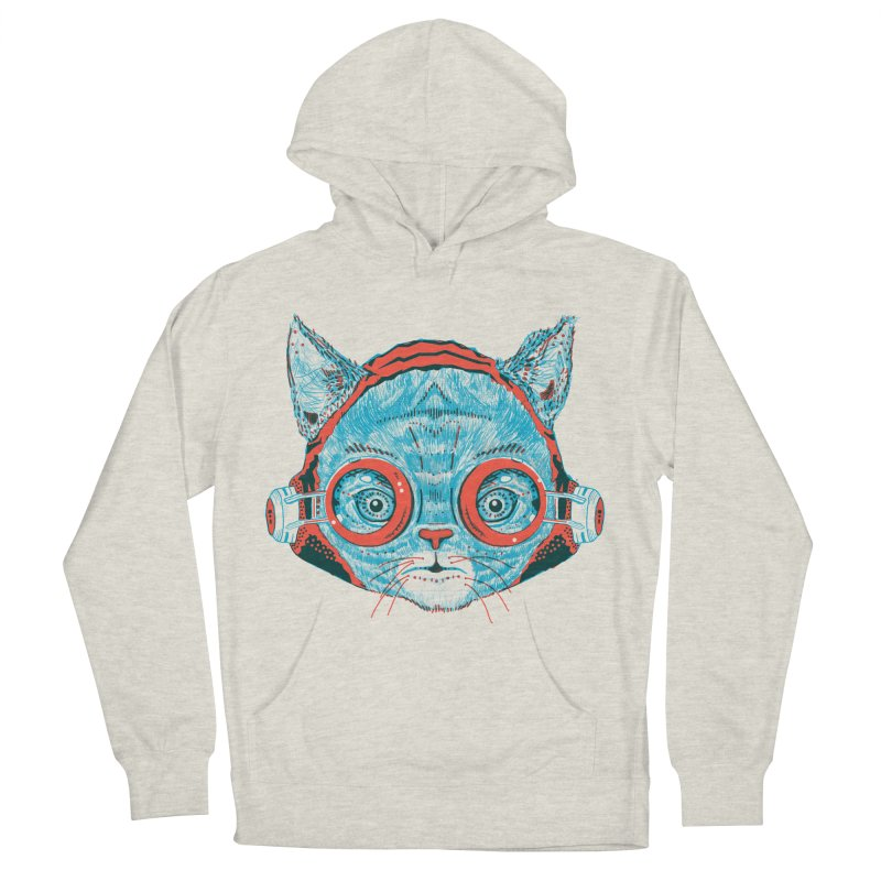 Meowz Kanata Men's French Terry Pullover Hoody by Steger