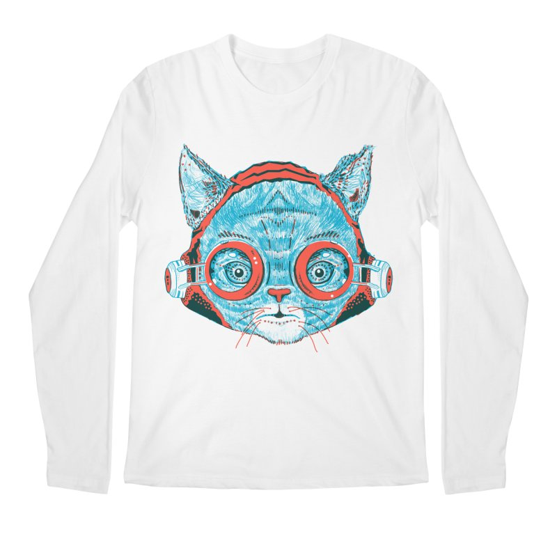 Meowz Kanata Men's Regular Longsleeve T-Shirt by Steger