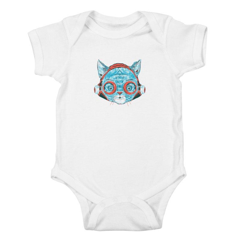 Meowz Kanata Kids Baby Bodysuit by Steger