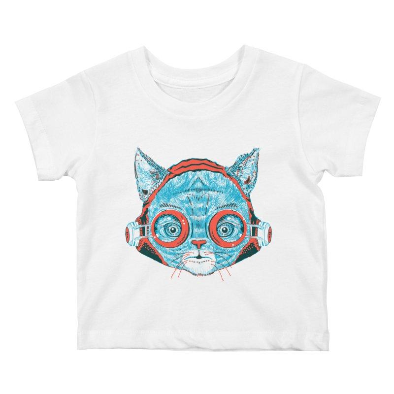 Meowz Kanata Kids Baby T-Shirt by Steger