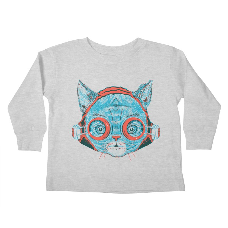 Meowz Kanata Kids Toddler Longsleeve T-Shirt by Steger