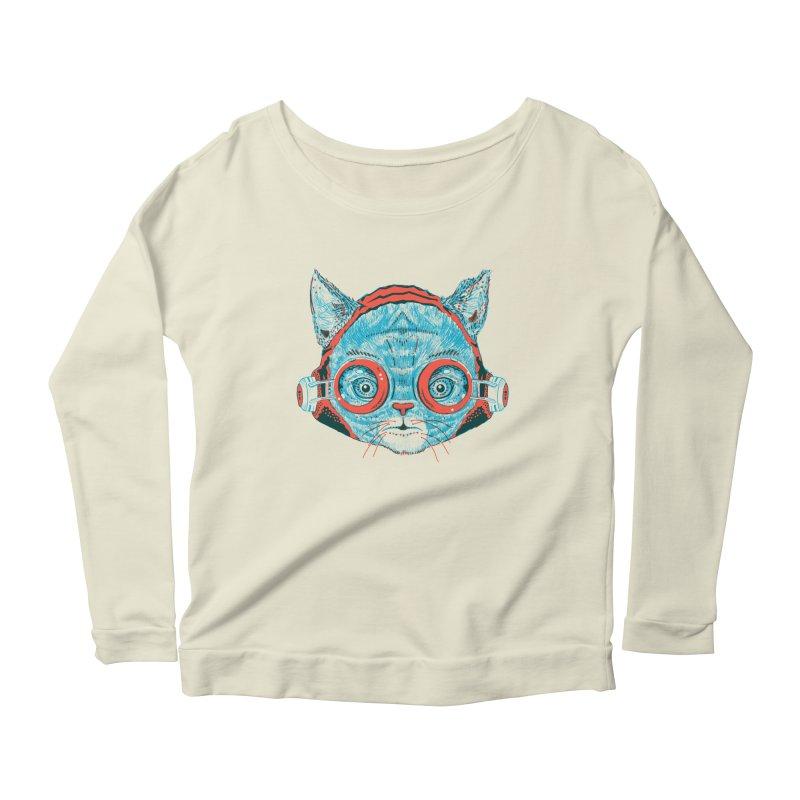 Meowz Kanata Women's Scoop Neck Longsleeve T-Shirt by Steger