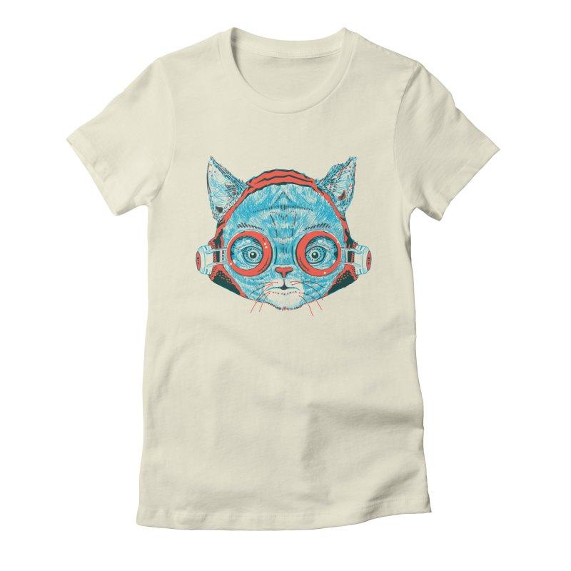 Meowz Kanata Women's Fitted T-Shirt by Steger