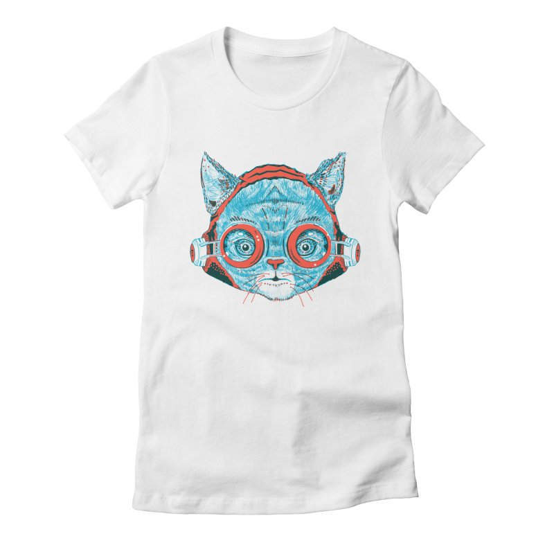 Meowz Kanata Women's Fitted T-Shirt by Steger