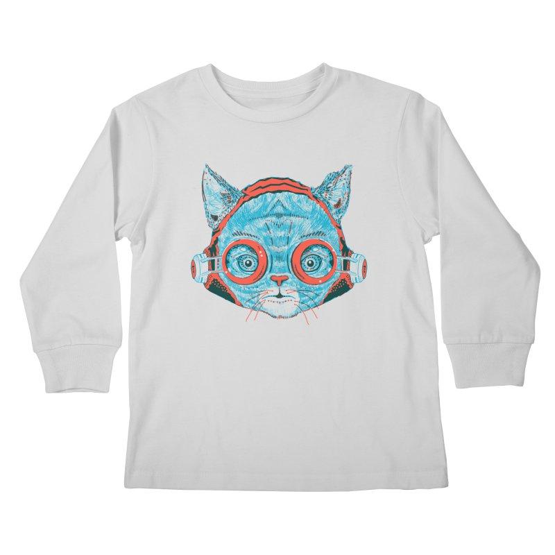 Meowz Kanata Kids Longsleeve T-Shirt by Steger