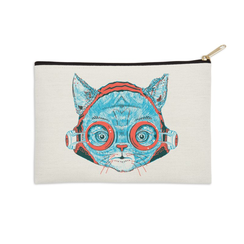 Meowz Kanata Accessories Zip Pouch by Steger