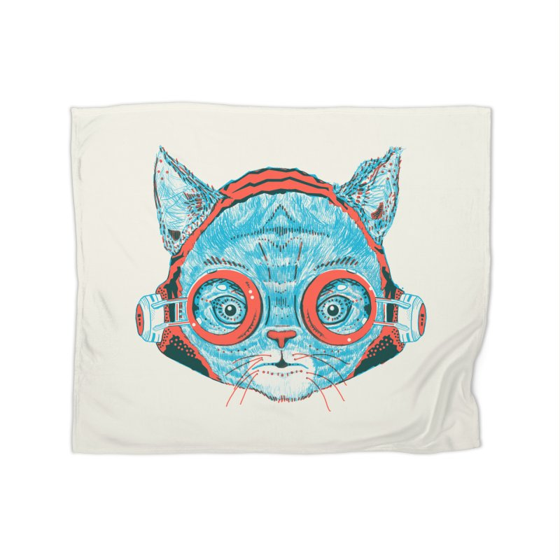 Meowz Kanata Home Fleece Blanket Blanket by Steger