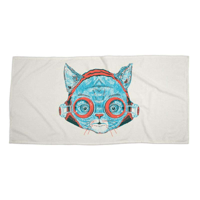 Meowz Kanata Accessories Beach Towel by Steger